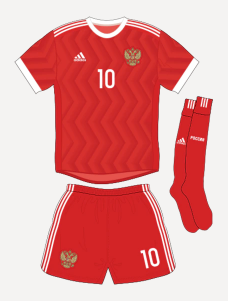 Russia Euros 2020 Offical Home Kit