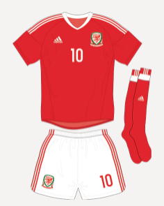 Wales Euros 2020 Offical Home Kit