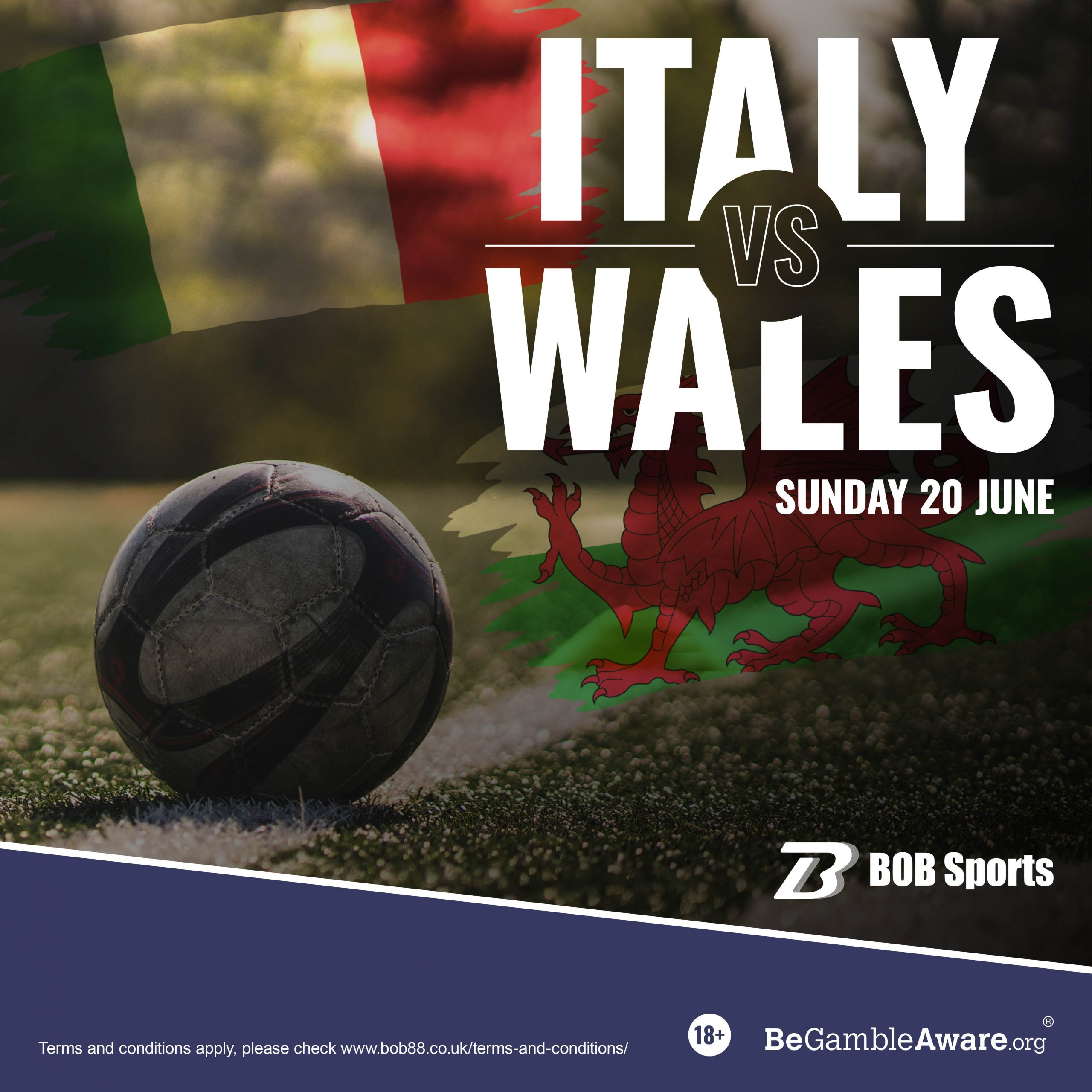 EURO Betting Odds Italy vs Wales Euro 2020