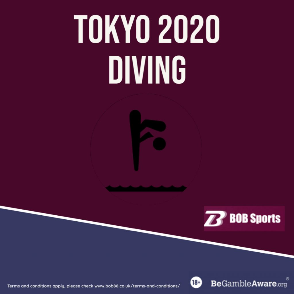 olympics diving betting poster